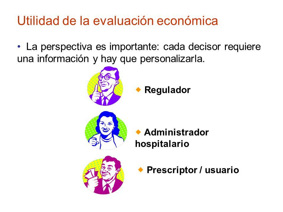 Utilidad de la evaluación económica