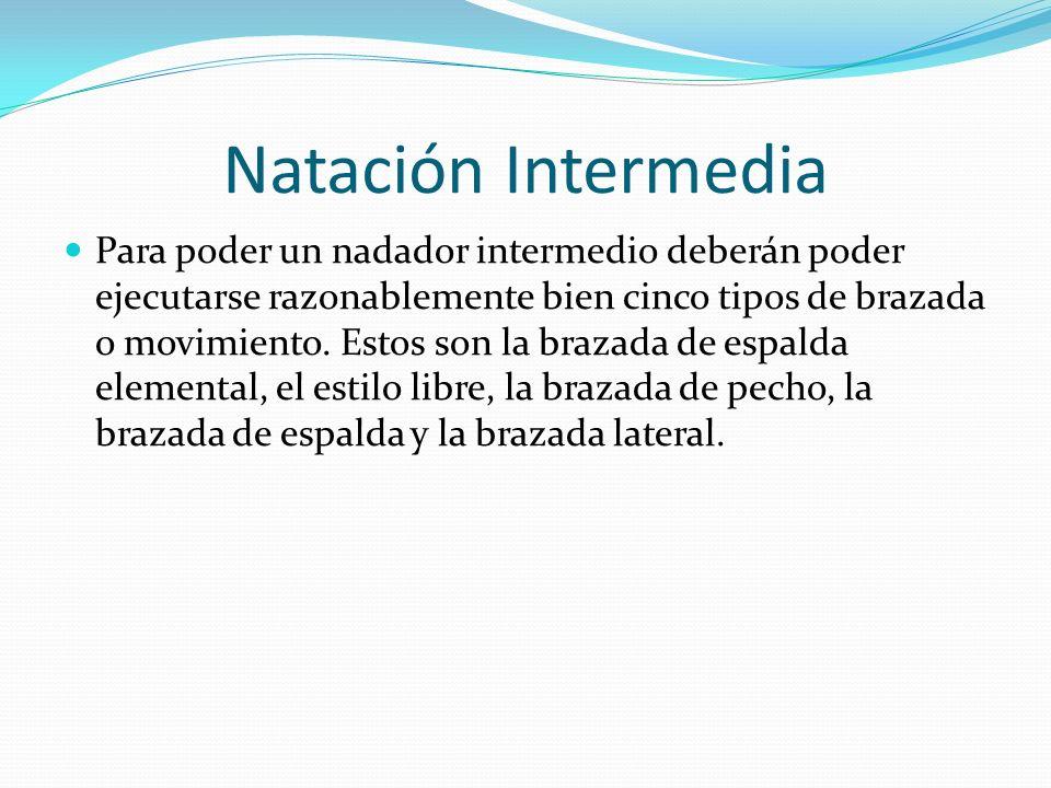 Natación Intermedia
