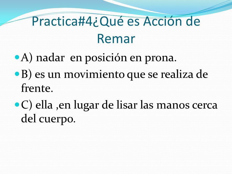 Practica#4¿Qué es Acción de Remar