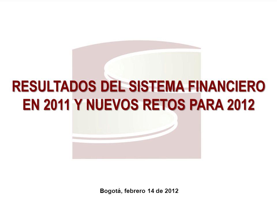 RESULTADOS DEL SISTEMA FINANCIERO EN 2011 Y NUEVOS RETOS PARA 2012