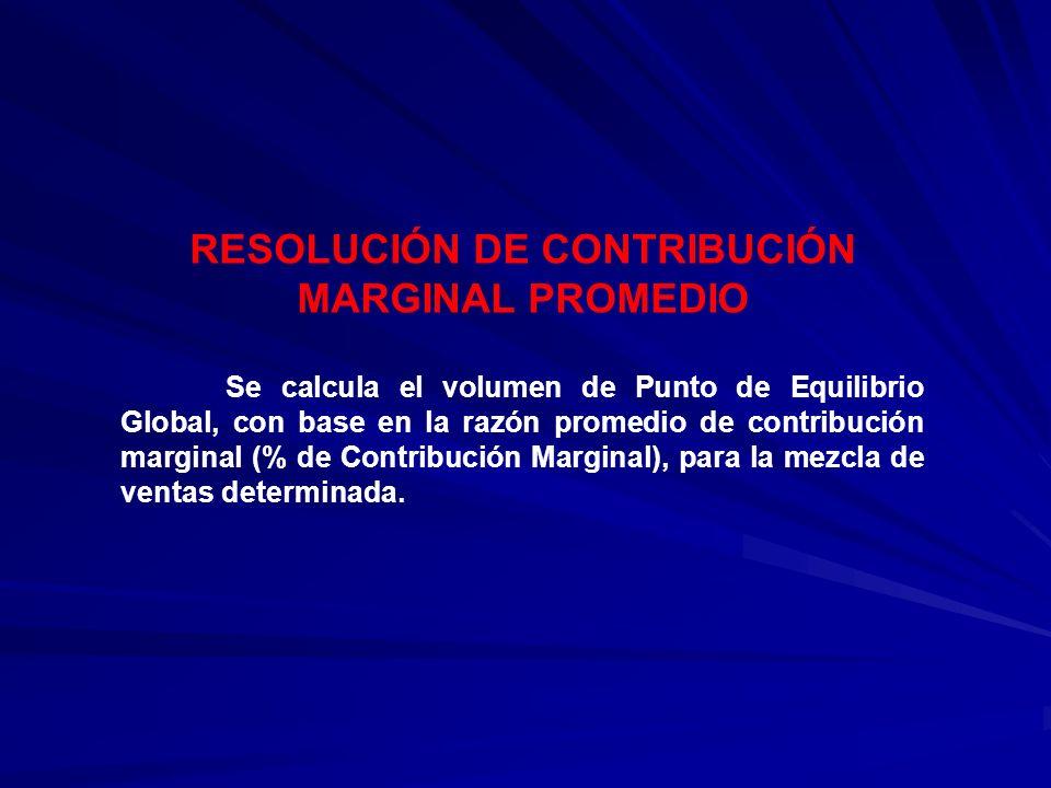 RESOLUCIÓN DE CONTRIBUCIÓN