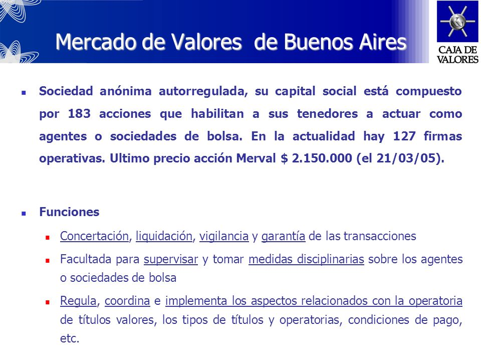 Mercado de Valores de Buenos Aires