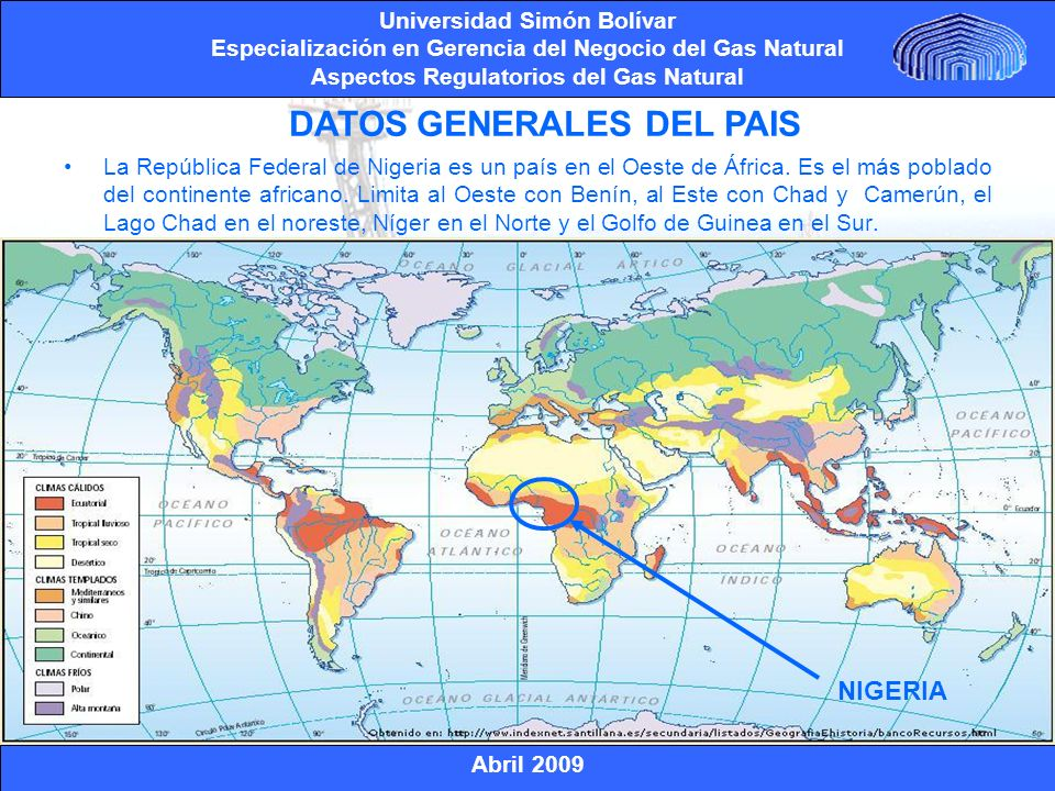 DATOS GENERALES DEL PAIS