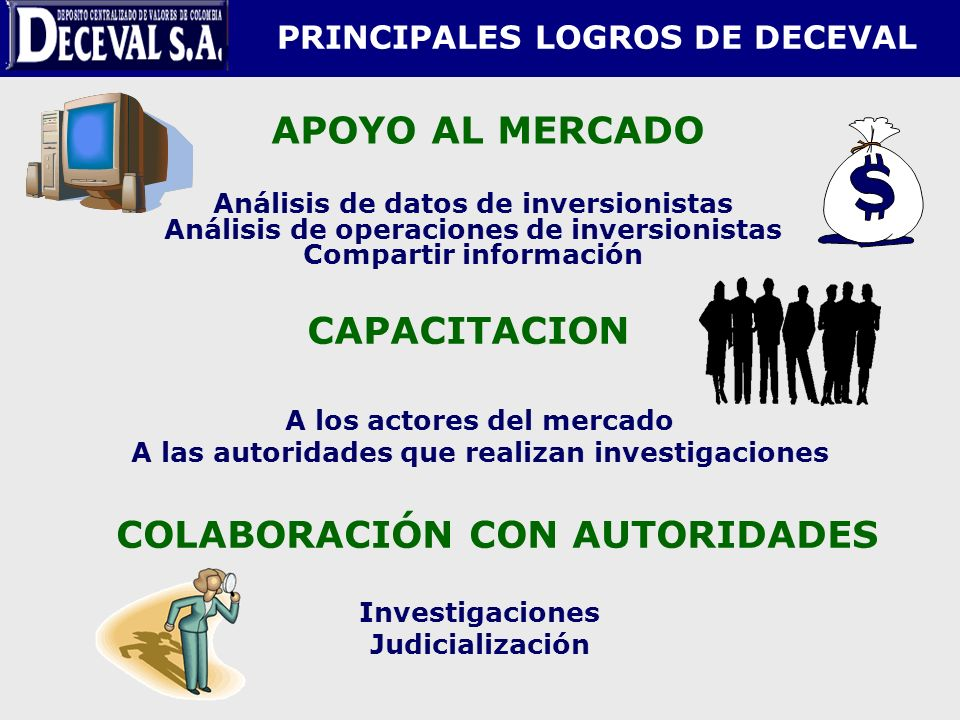 PRINCIPALES LOGROS DE DECEVAL