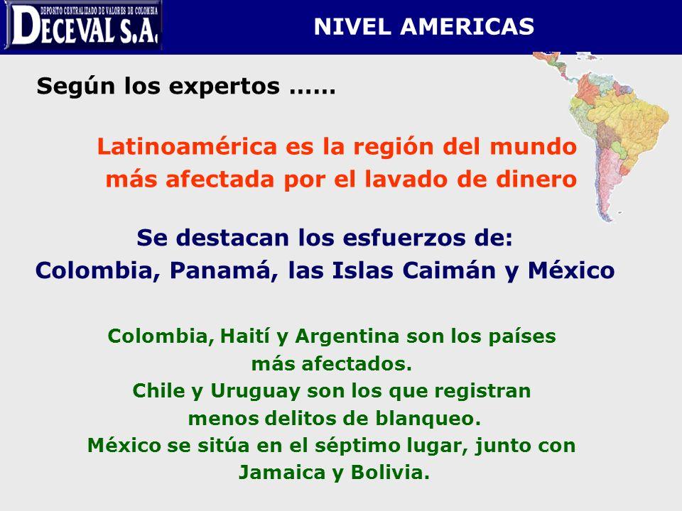 Latinoamérica es la región del mundo