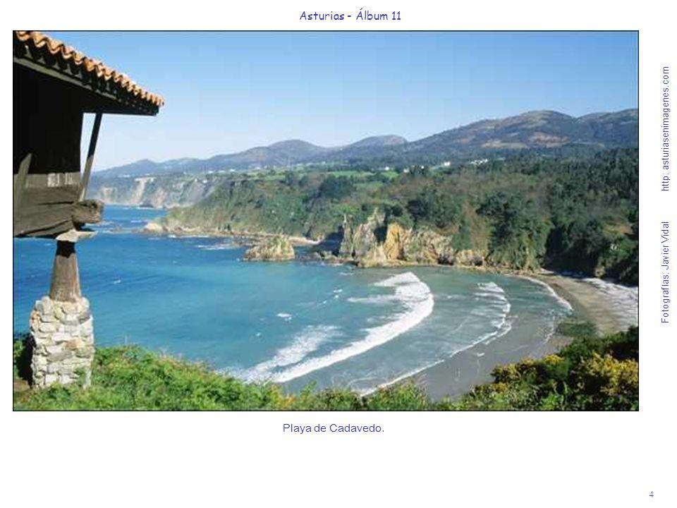 Asturias - Álbum 11 Playa de Cadavedo.
