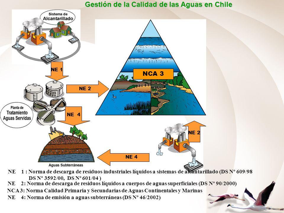 Gestión de la Calidad de las Aguas en Chile