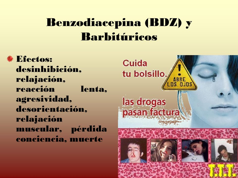 Benzodiacepina (BDZ) y Barbitúricos