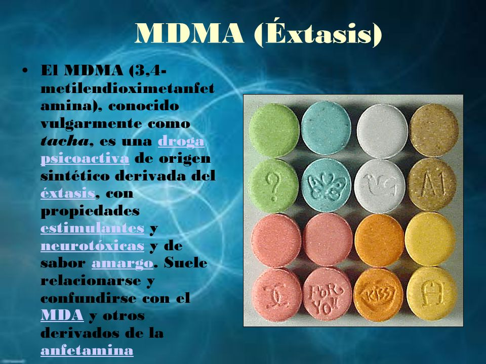 MDMA (Éxtasis)