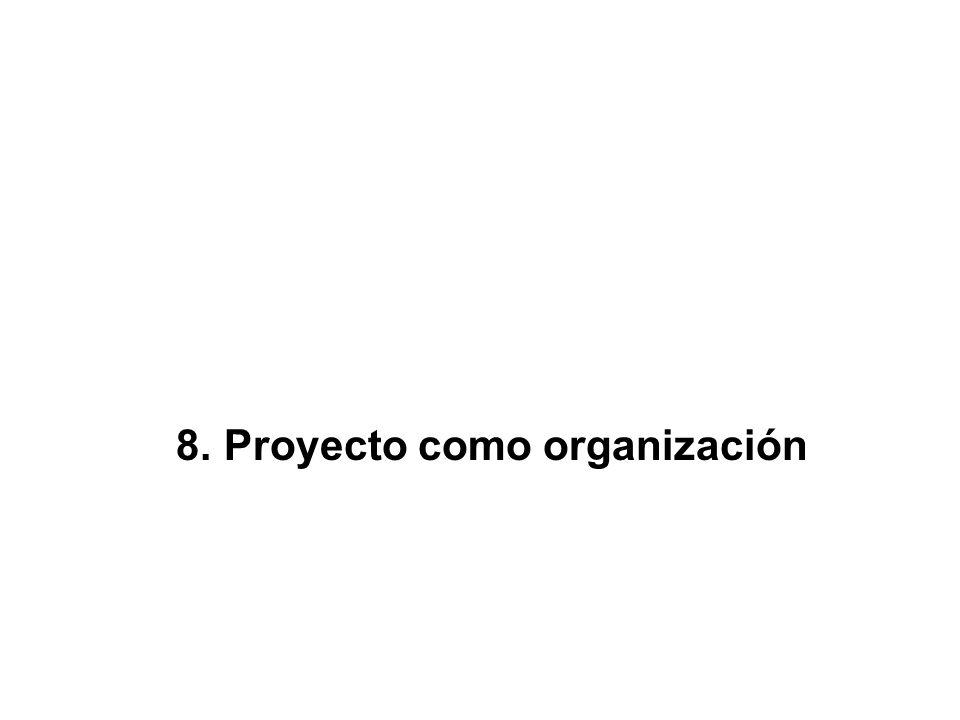 8. Proyecto como organización