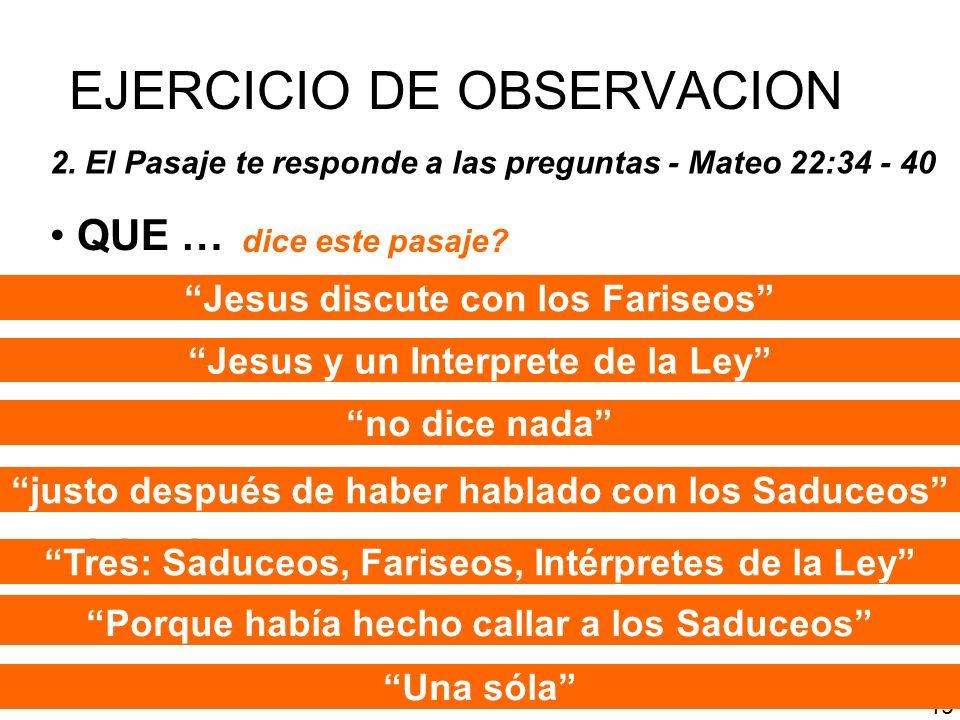 EJERCICIO DE OBSERVACION
