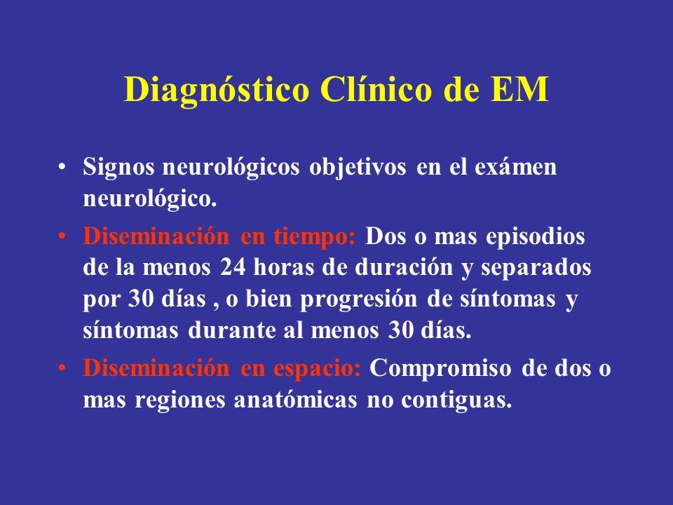 Diagnóstico Clínico de EM