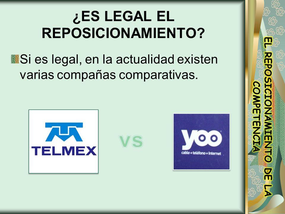¿ES LEGAL EL REPOSICIONAMIENTO