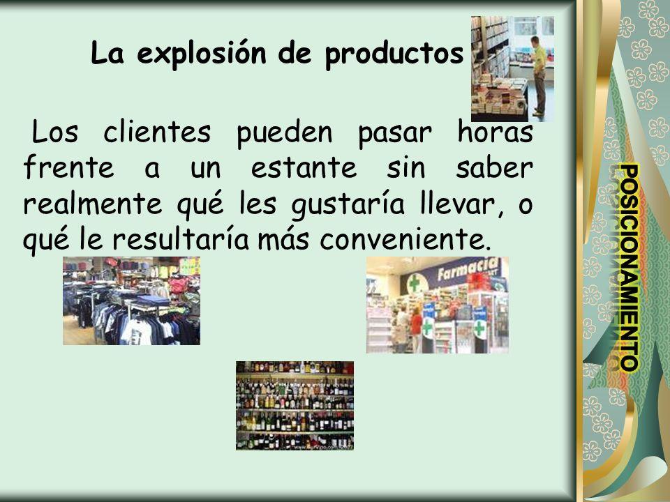 La explosión de productos