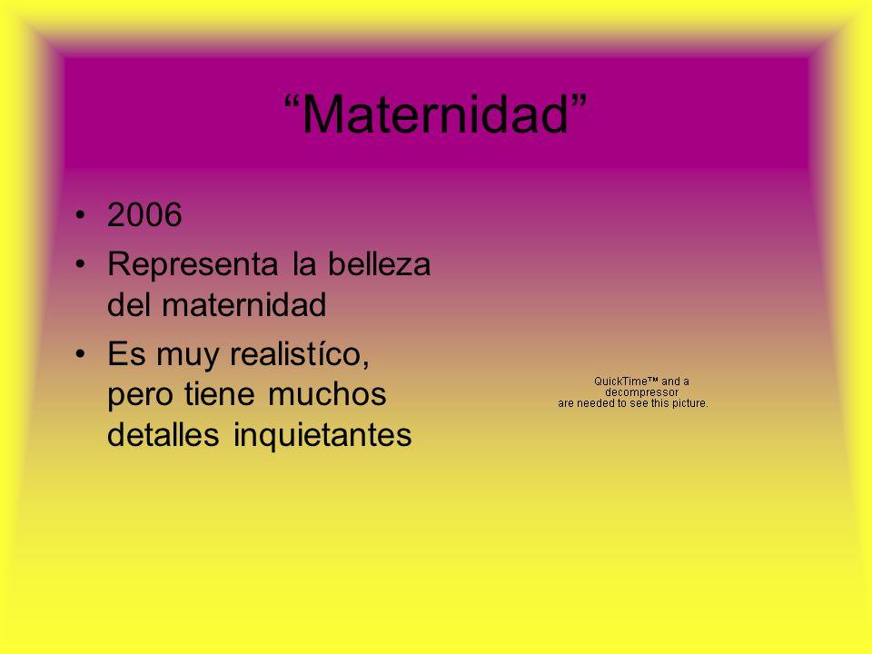 Maternidad 2006 Representa la belleza del maternidad