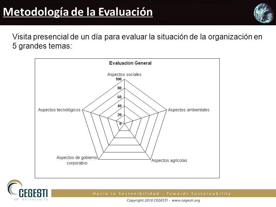 Metodología de la Evaluación