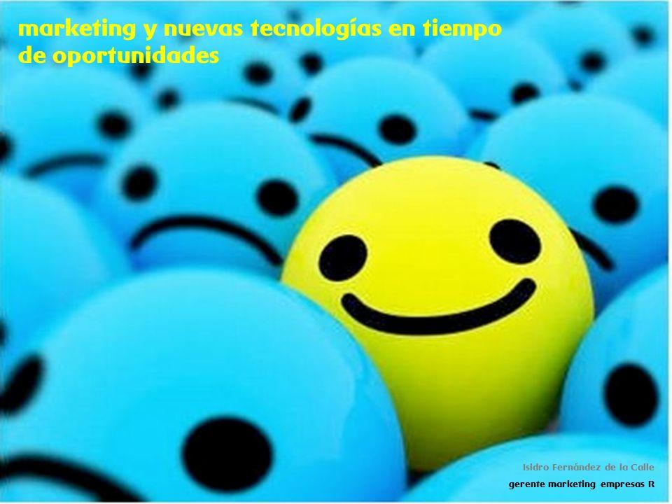 marketing y nuevas tecnologías en tiempo de oportunidades