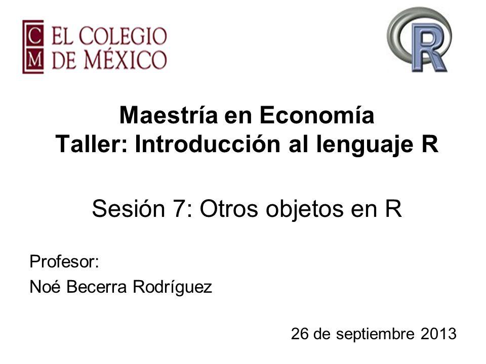 Profesor: Noé Becerra Rodríguez 26 de septiembre 2013