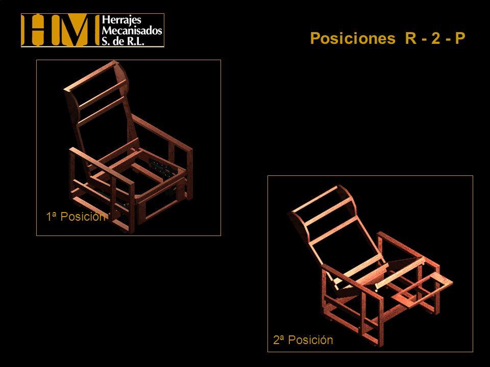 Posiciones R - 2 - P 1ª Posición 2ª Posición