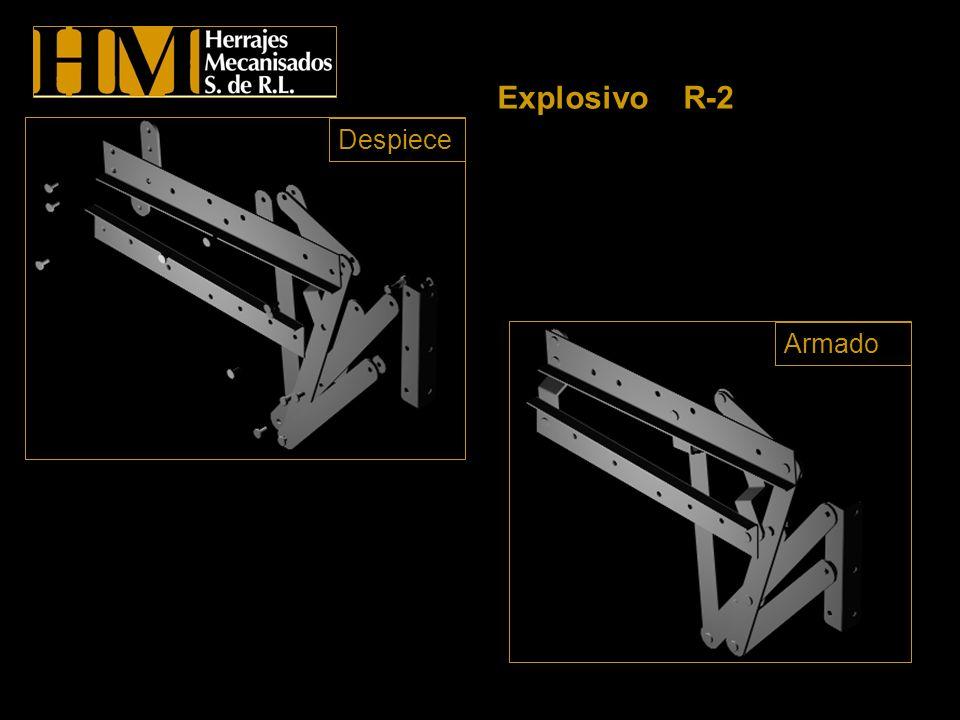 Explosivo R-2 Despiece Armado