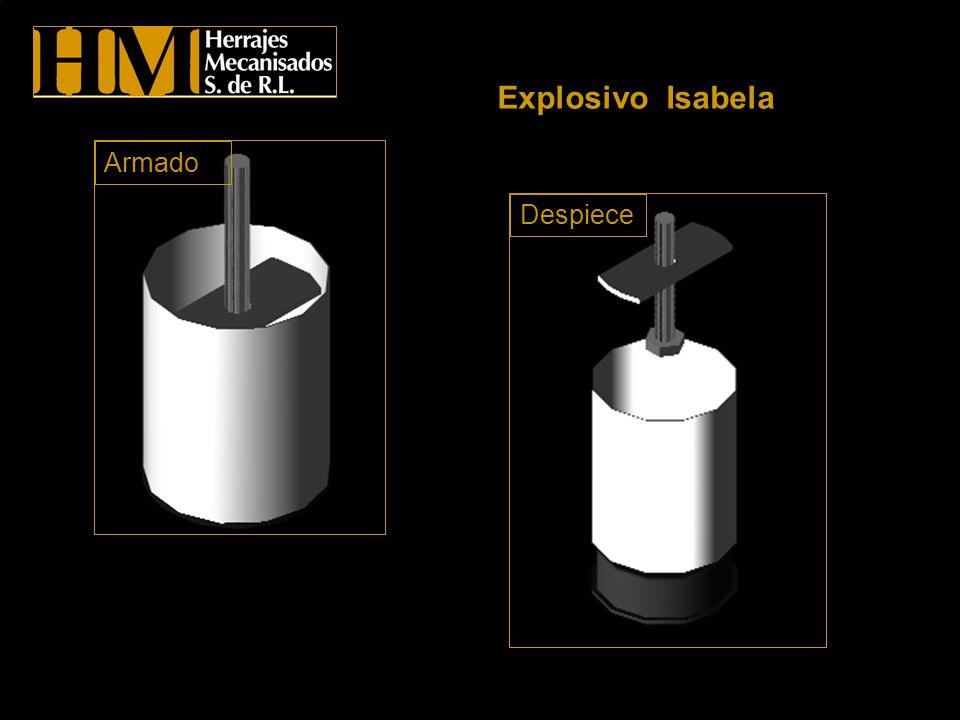 Explosivo Isabela Armado Despiece