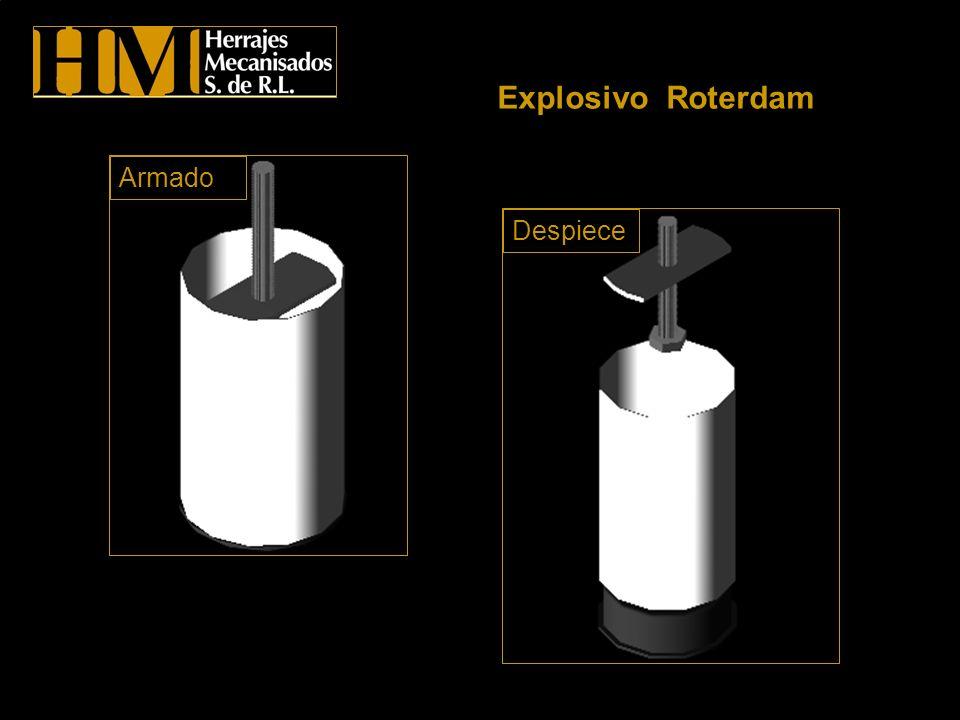 Explosivo Roterdam Armado Despiece