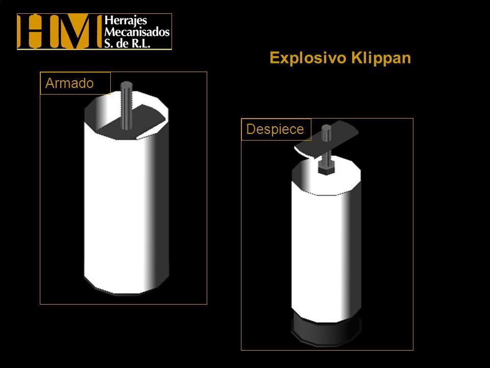 Explosivo Klippan Armado Despiece