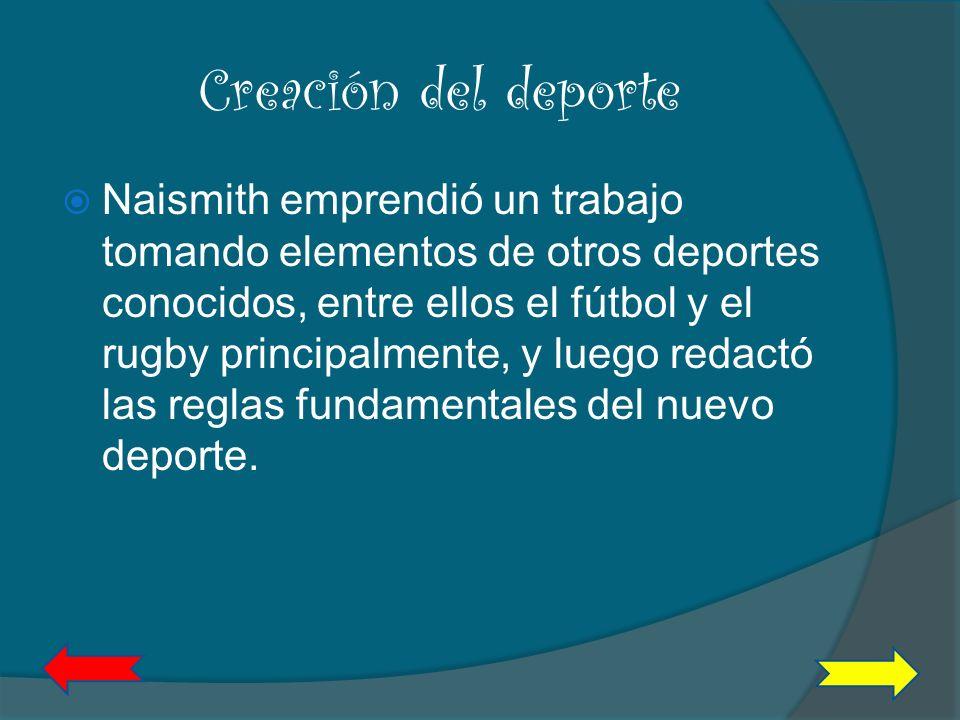 Creación del deporte