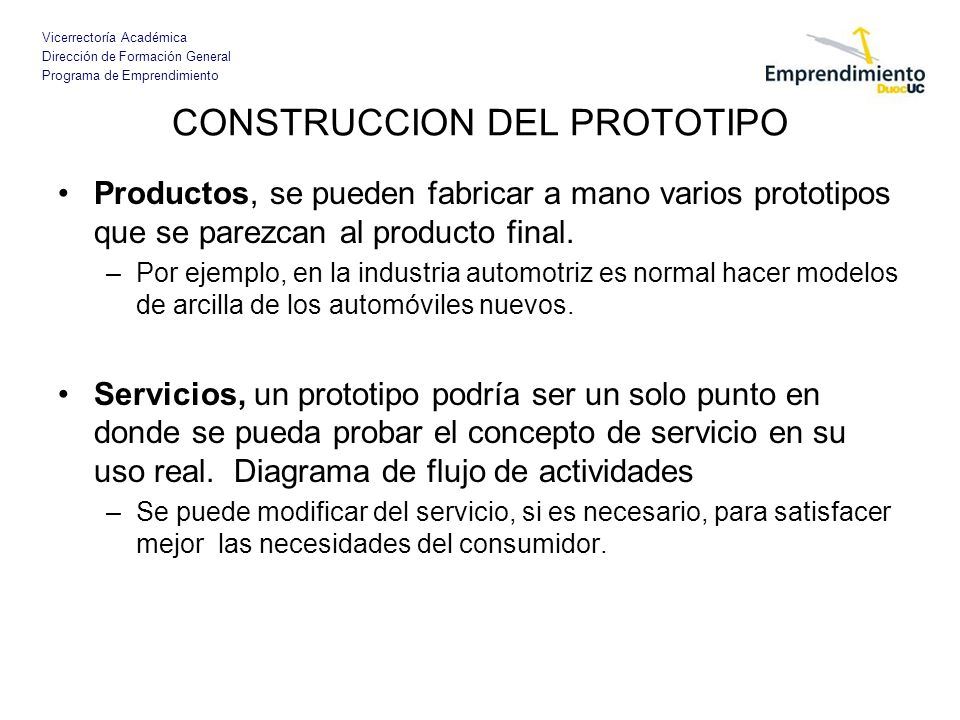 CONSTRUCCION DEL PROTOTIPO