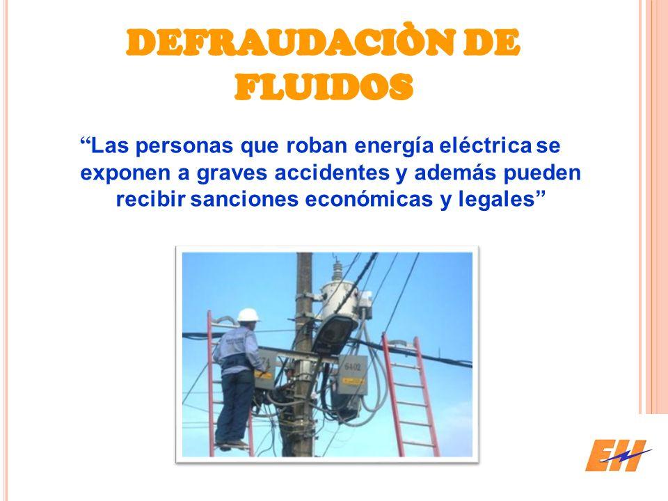 DEFRAUDACIÒN DE FLUIDOS