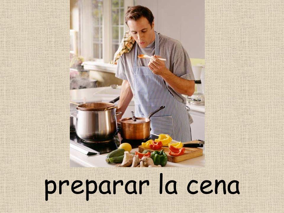 preparar la cena