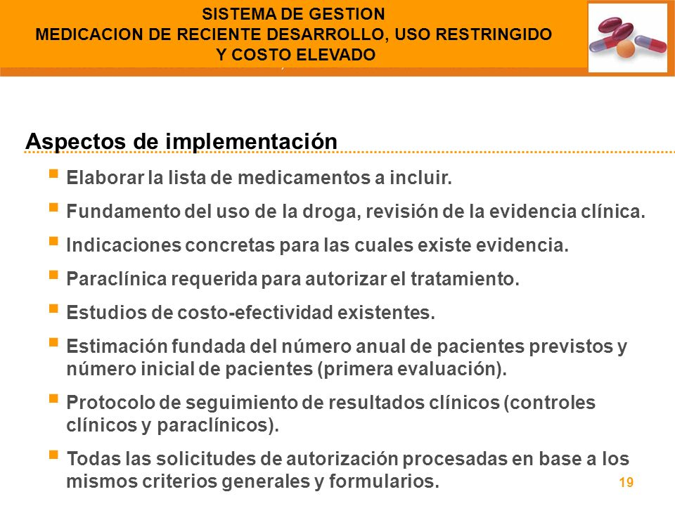 Aspectos de implementación