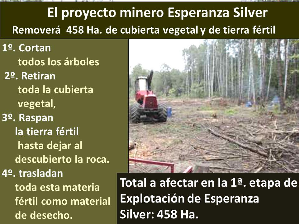 . El proyecto minero Esperanza Silver