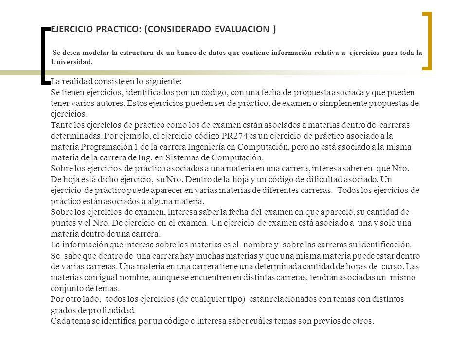 EJERCICIO PRACTICO: (CONSIDERADO EVALUACION )