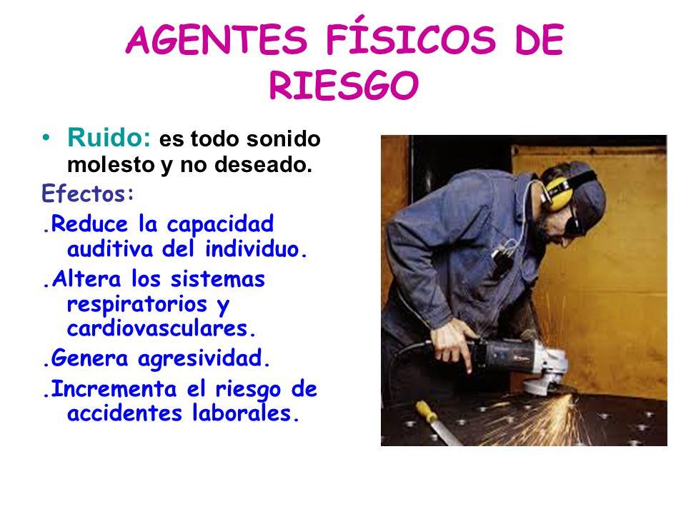 AGENTES FÍSICOS DE RIESGO