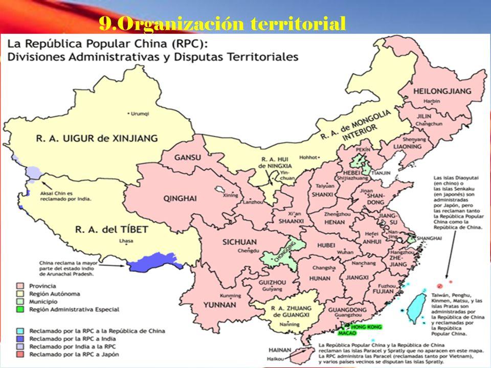 9.Organización territorial