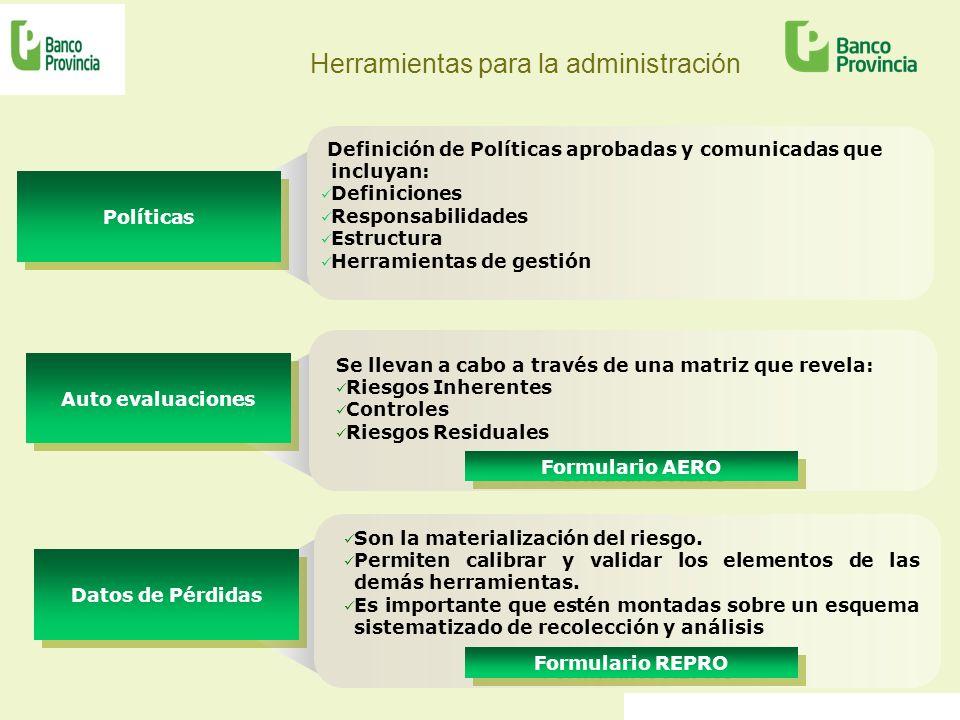 Herramientas para la administración