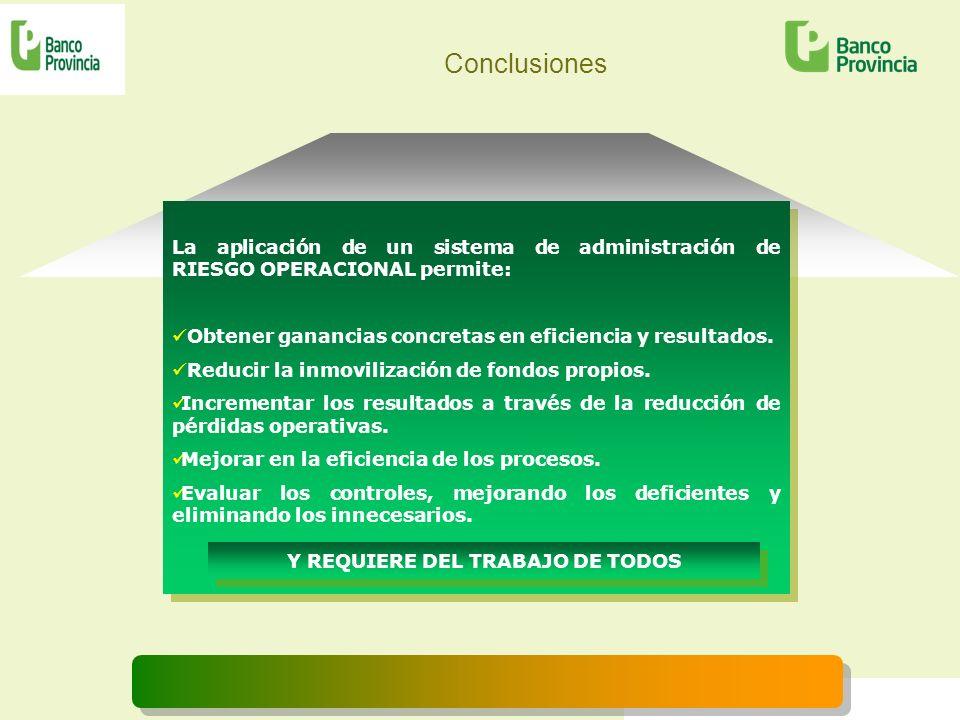 Y REQUIERE DEL TRABAJO DE TODOS