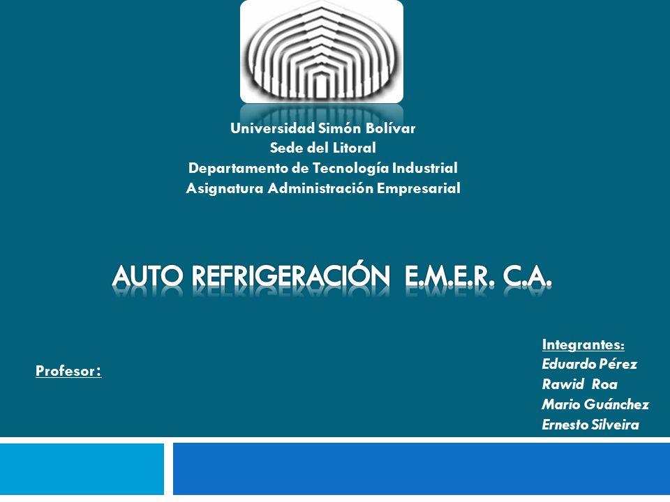 AUTO REFRIGERACIÓN E.M.E.R. C.A.