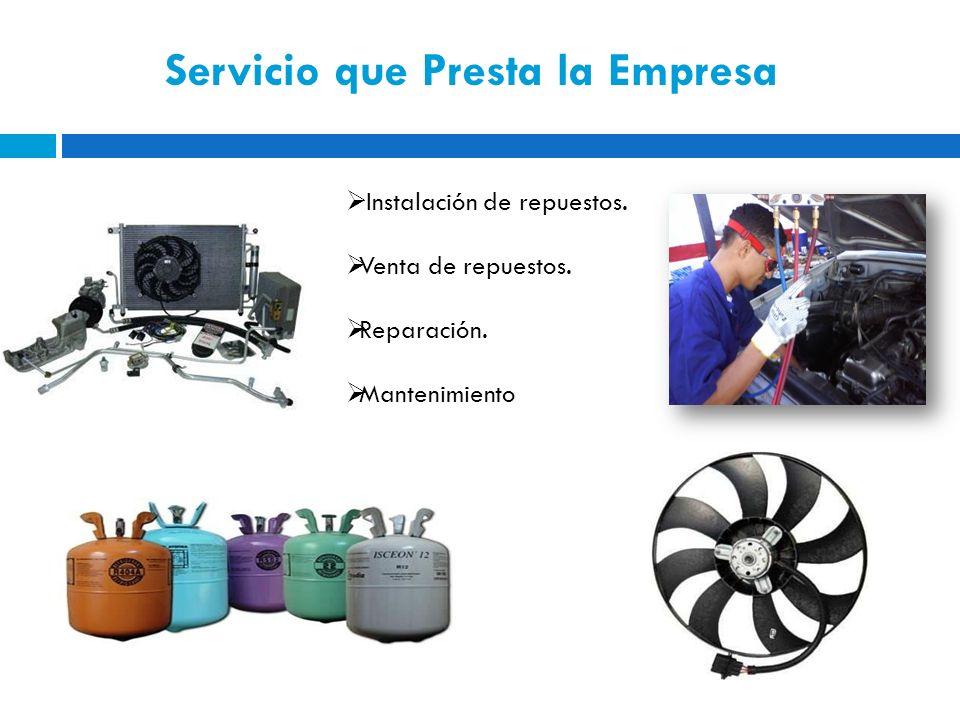 Servicio que Presta la Empresa