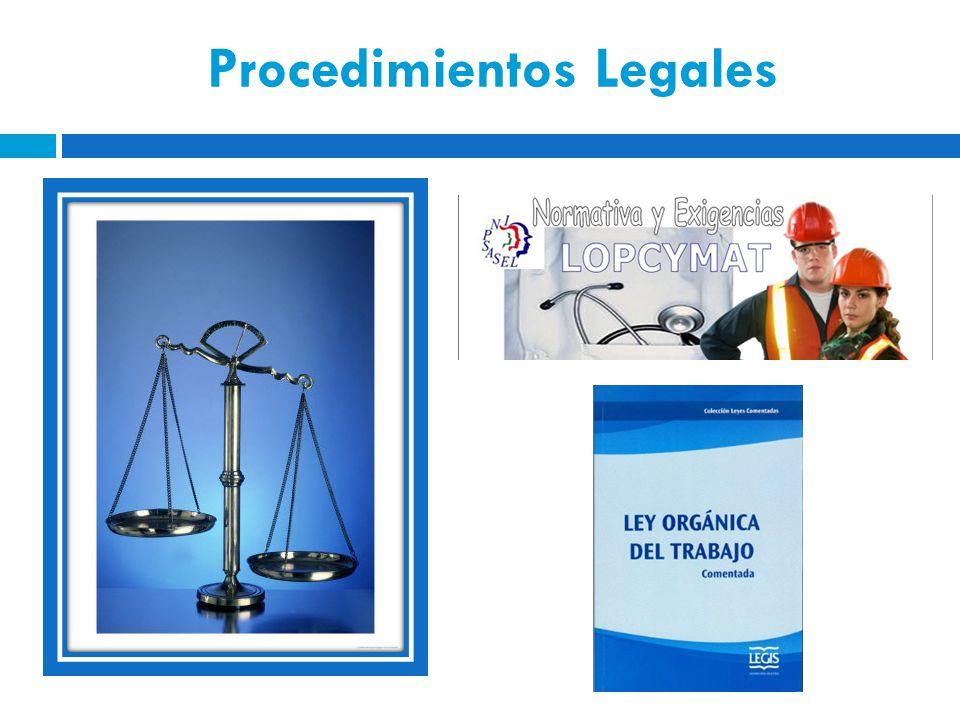 Procedimientos Legales