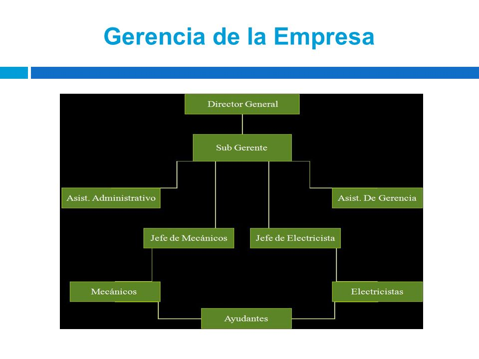 Gerencia de la Empresa