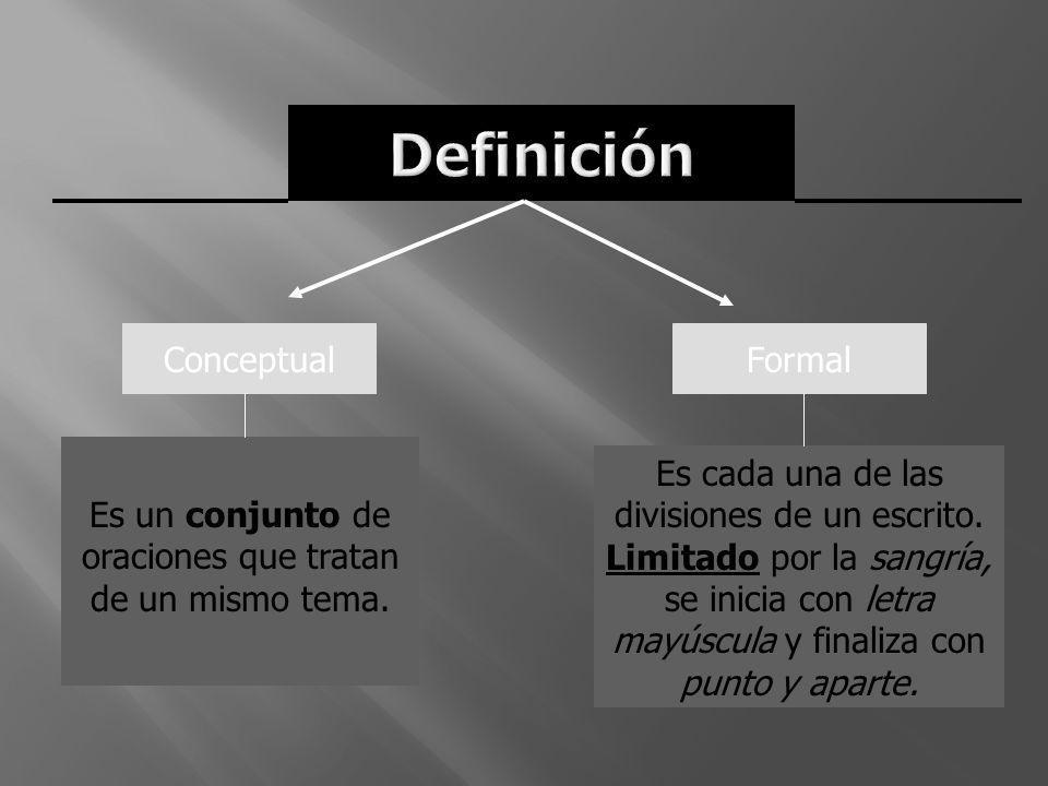 Definición Conceptual Formal