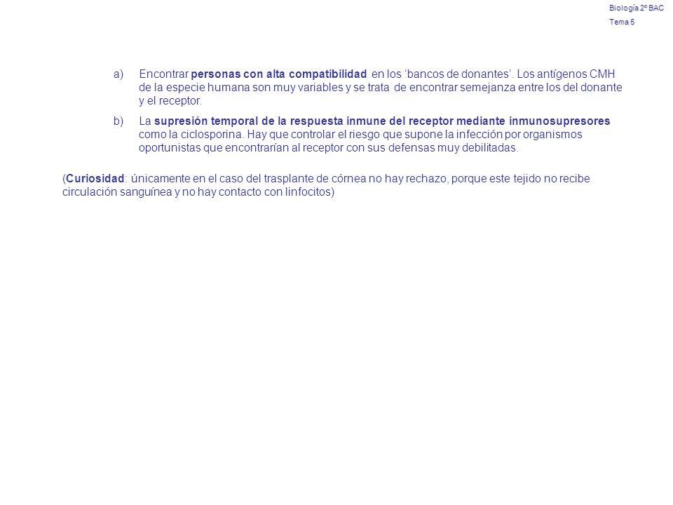 Biología 2º BAC Tema 5.
