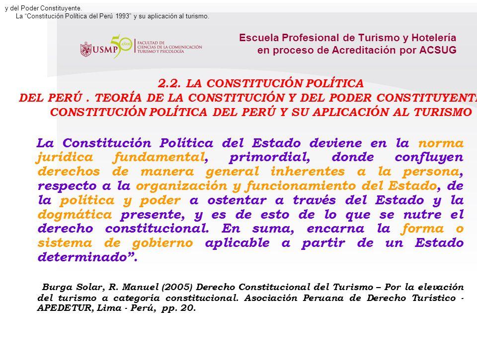 2.2. La Constitución Política