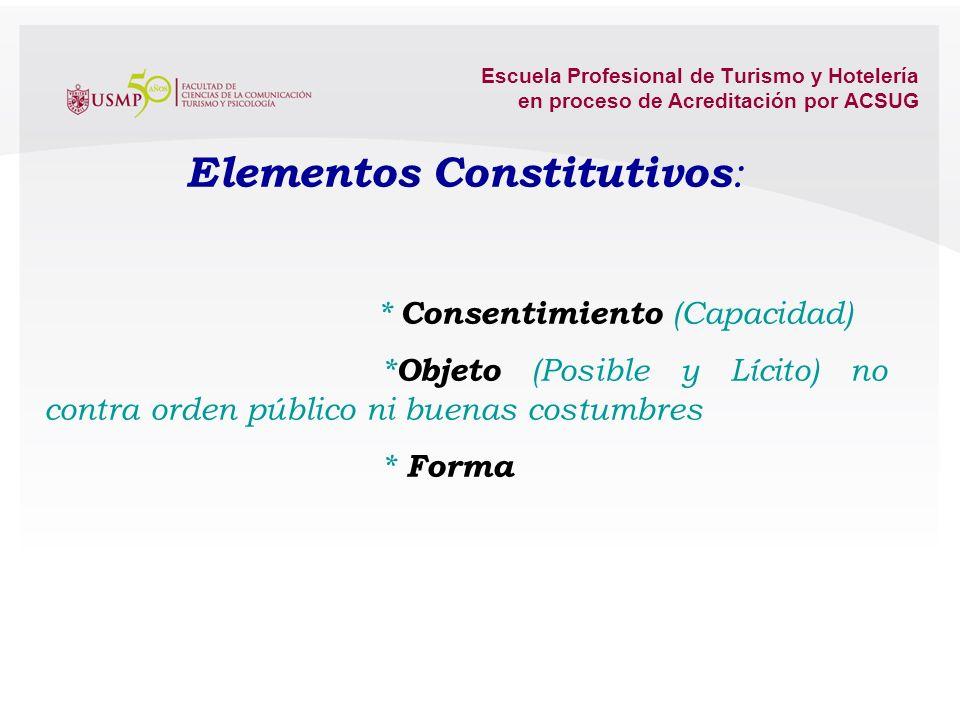 Elementos Constitutivos: