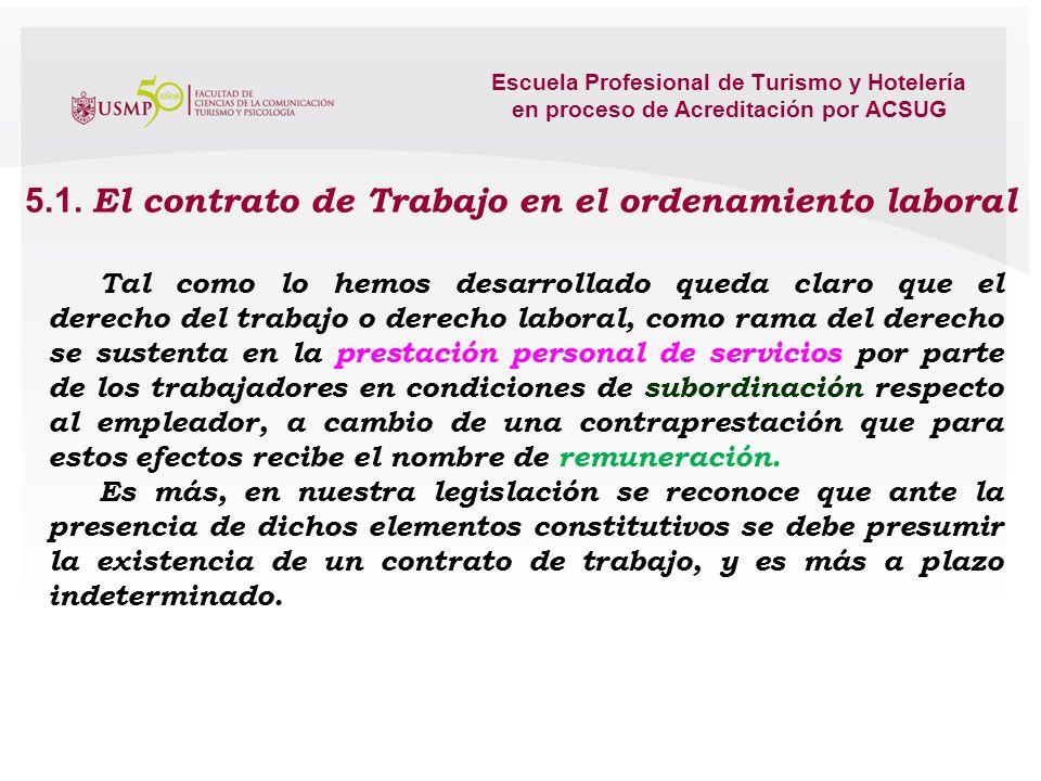 Escuela Profesional de Turismo y Hotelería
