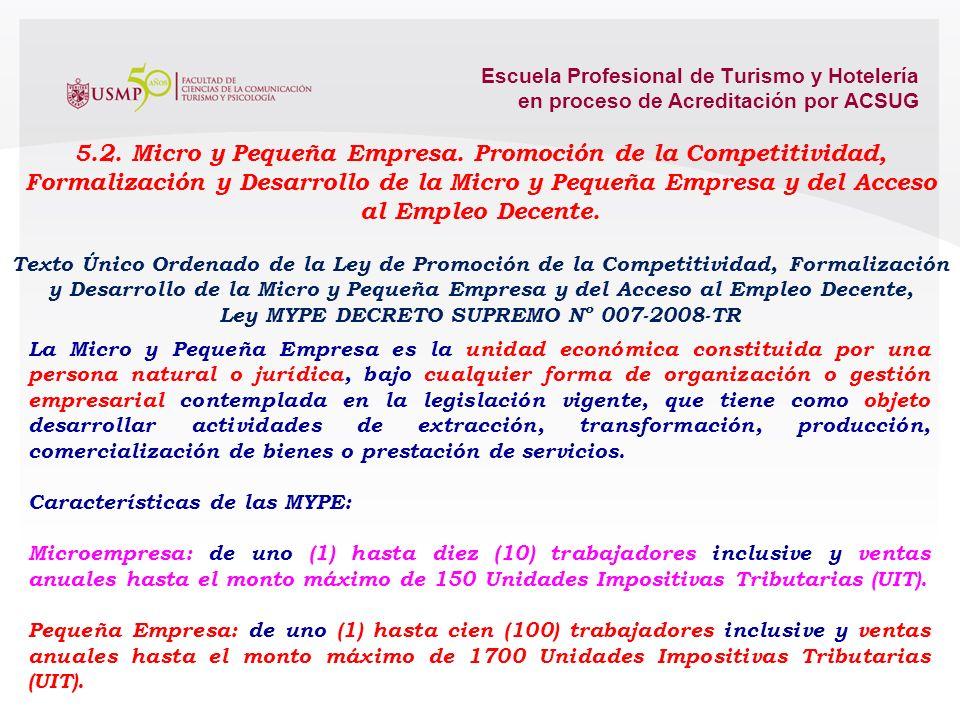 Ley MYPE DECRETO SUPREMO Nº 007-2008-TR