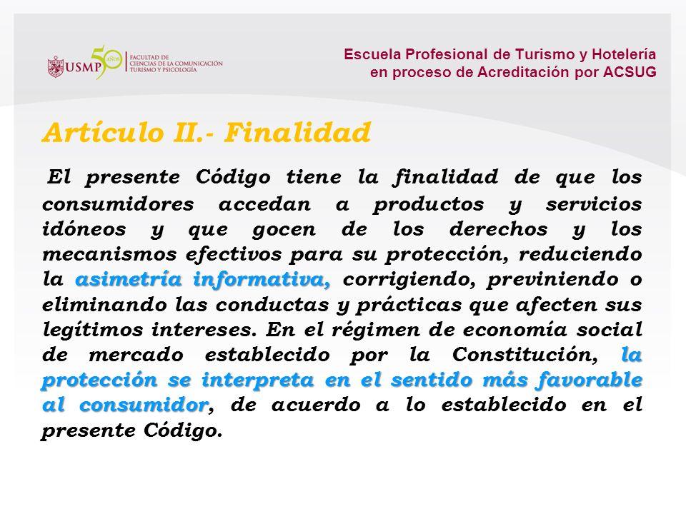 Artículo II.- Finalidad