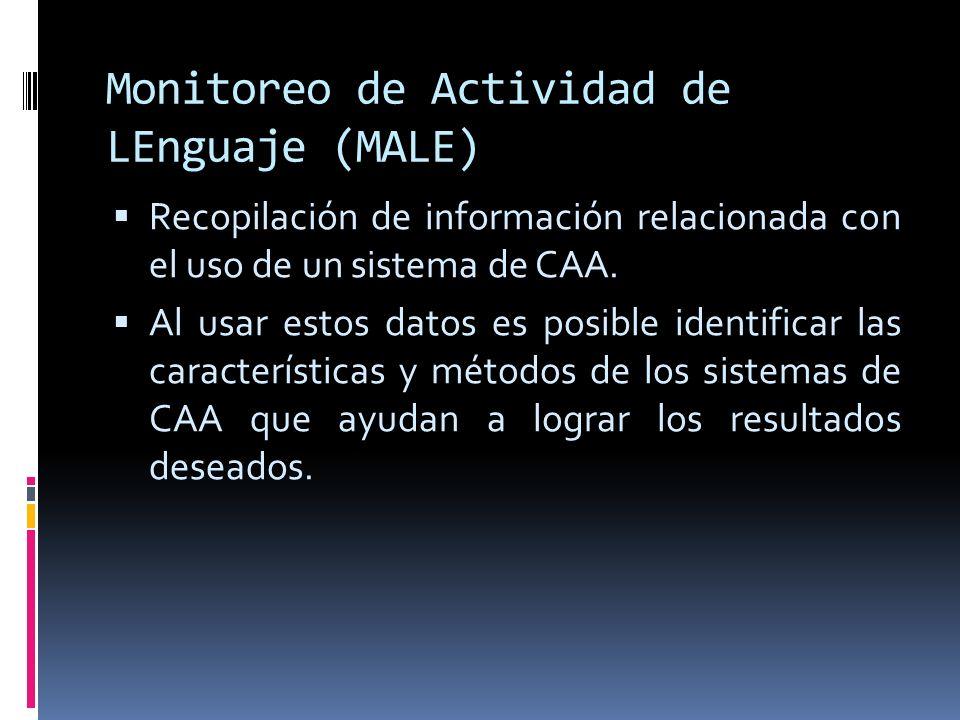 Monitoreo de Actividad de LEnguaje (MALE)
